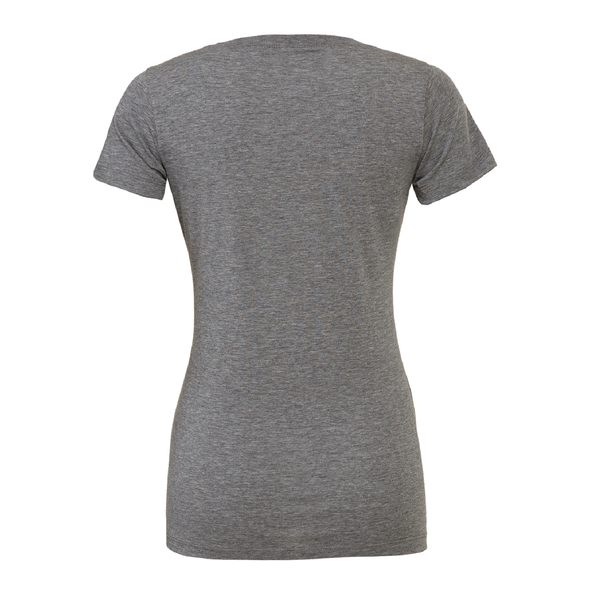 Kaptiva Sports (Logo) Bella + Canvas Short Sleeve Triblend T-Shirt Grey