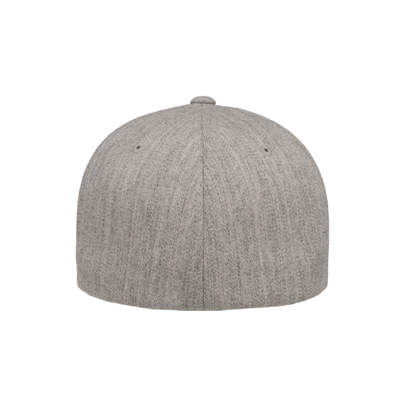 Montclair United Match Fit Flexfit Wool Blend Fitted Cap Heather Grey