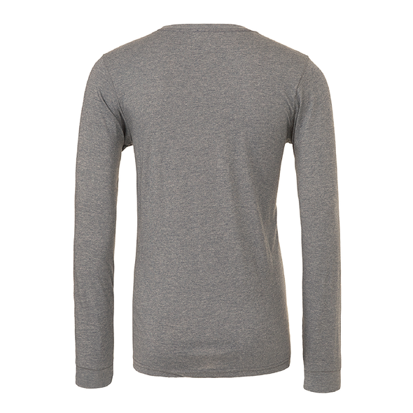 Boynton United (Club Name) Bella + Canvas Long Sleeve Triblend T-Shirt Grey