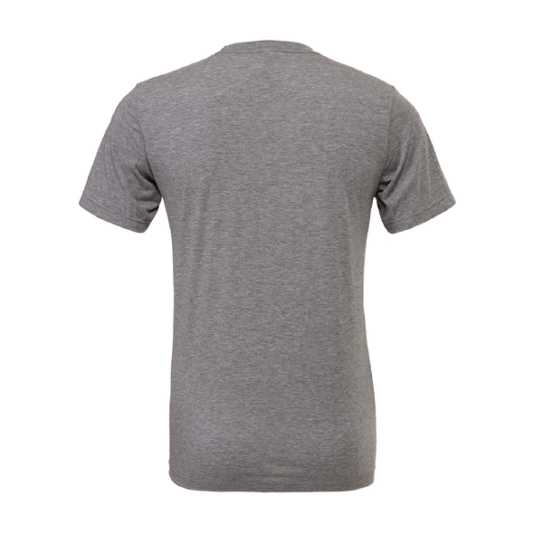 PASCO (Patch) Bella + Canvas Short Sleeve Triblend T-Shirt Grey