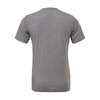 Montclair United Match Fit (Logo) Bella + Canvas Short Sleeve Triblend T-Shirt Grey