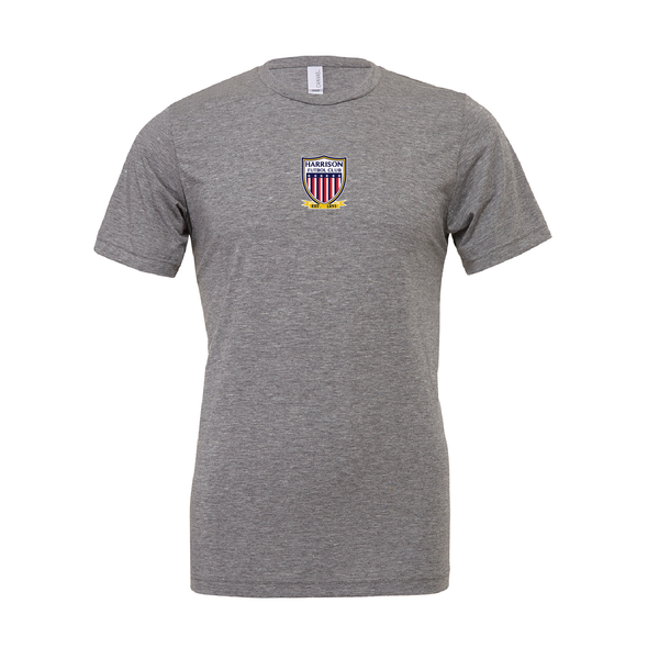 Harrison FC (Patch) Bella + Canvas Short Sleeve Triblend T-Shirt Grey