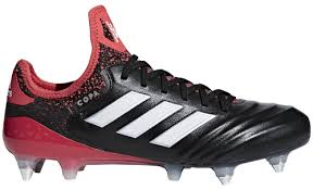adidas Copa 18.1 Firm Ground Cleat - Black/Red/White