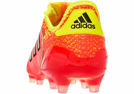 adidas Copa 18.1 Firm Ground Cleat - Red/Black/Yellow