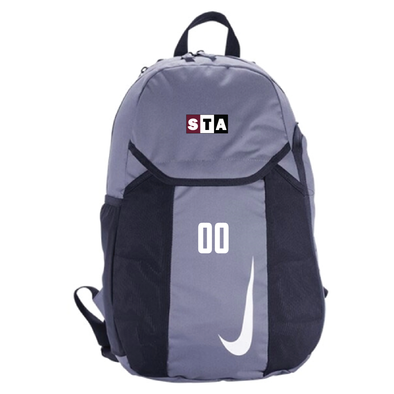 STA Nike Academy Team Backpack Grey