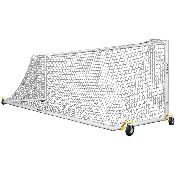 Kwik Goal Pro Premier® European Match Soccer Goal with Swivel Wheels - 8 x 24