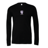Monroe Woodbury (Patch) Bella + Canvas Long Sleeve Triblend T-Shirt Heather Black