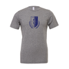 Montclair United (Logo) Bella + Canvas Short Sleeve Triblend T-Shirt Grey
