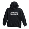 Mount Olive Travel (Club Name) Pennant Super 10 Hoodie Black