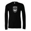 Mount Olive Travel (Logo) Bella + Canvas Long Sleeve Triblend T-Shirt Heather Black