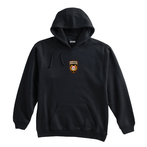 Mount Olive Travel (Patch) Pennant Super 10 Hoodie Black