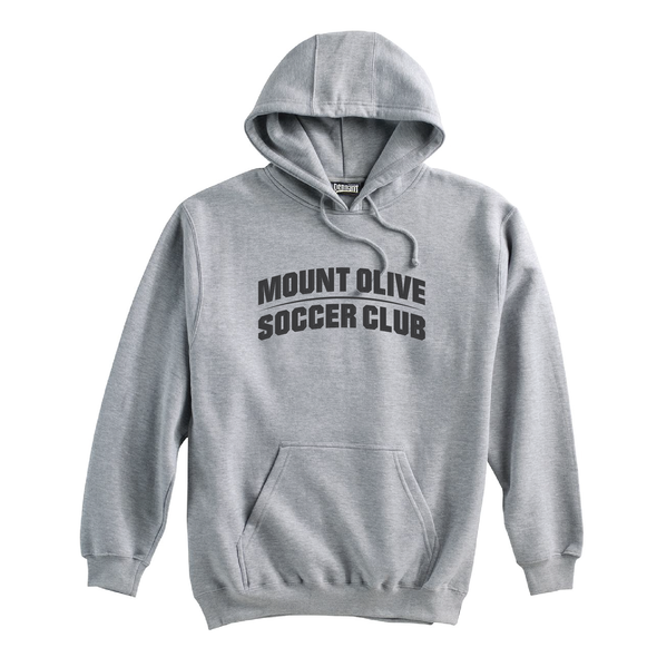 Mount Olive Travel (Club Name) Pennant Super 10 Hoodie Grey