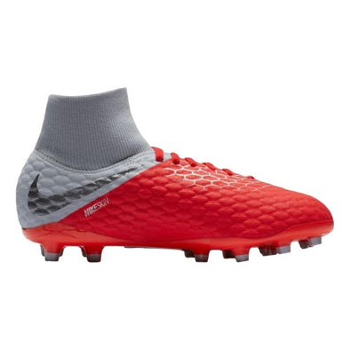 Nike Youth Hypervenom Phantom III Academy DF Firm Ground Cleats