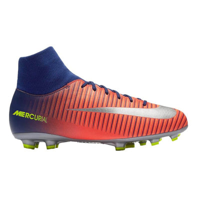 Nike Youth Mercurial Victory VI DF Firm Ground Cleats