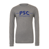 Parsippany SC Bella + Canvas Long Sleeve Triblend T-Shirt Grey