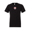 Parsippany SC Academy (Patch) Bella + Canvas Short Sleeve Triblend T-Shirt Solid Black