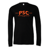 Parsippany SC (Club Name) Bella + Canvas Long Sleeve Triblend T-Shirt Heather Black