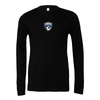 PASCO (Patch) Bella + Canvas Long Sleeve Triblend T-Shirt Heather Black