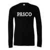 PASCO (Club Name) Bella + Canvas Long Sleeve Triblend T-Shirt Heather Black