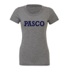 PASCO (Club Name) Bella + Canvas Short Sleeve Triblend T-Shirt Grey