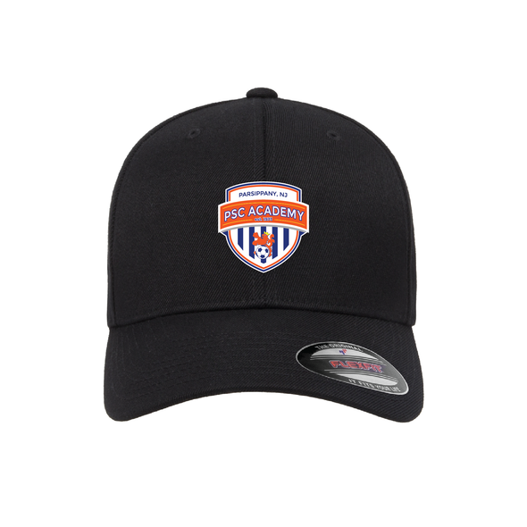 Parsippany SC Academy Flexfit Wool Blend Fitted Cap Black