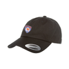 Parsippany SC Travel Yupoong Cotton Twill Dad Cap Black
