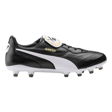 Puma King Top FG Firm Ground Soccer Cleat - Black/White