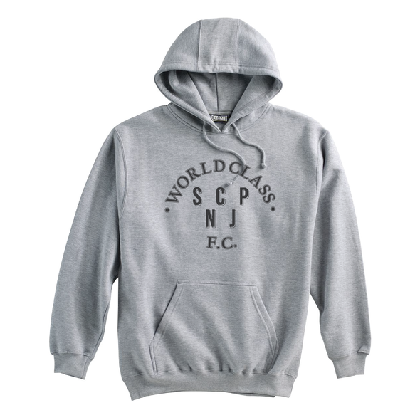 World Class SCP (Club Name) Pennant Super 10 Hoodie Grey