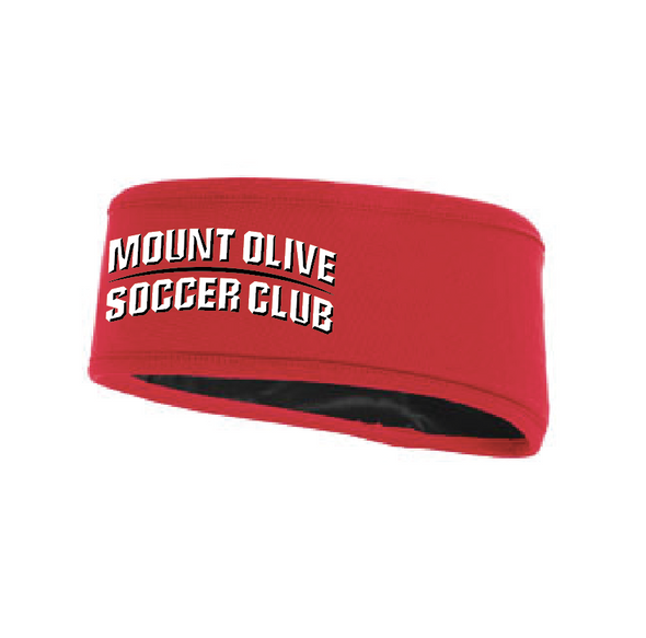 Mount Olive Travel Augusta OSFA Headband Red