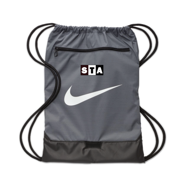 STA Nike Brasilia String Bag Grey