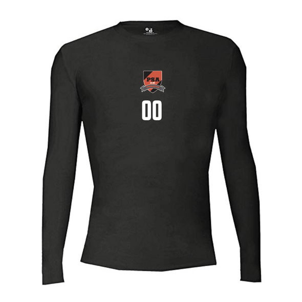PSA Princeton Champro Long Sleeve Compression Black