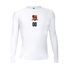 PSA Wildcats Champro Long Sleeve Compression White