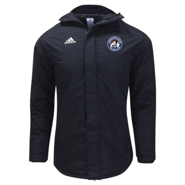 DUSC FAN adidas Stadium Parka 18 Jacket Black