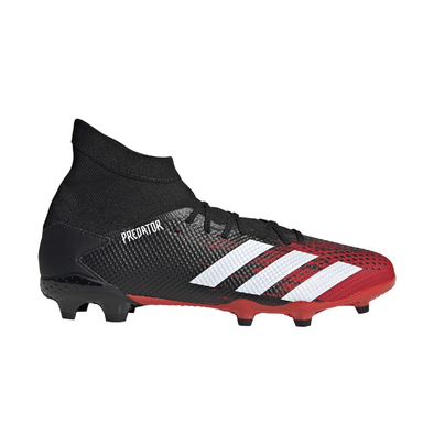 adidas Predator 20.3 FG Black/Active Red
