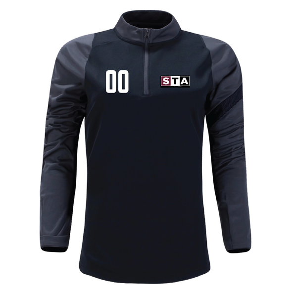 STA Girls Academy Nike Dry Academy Pro Drill Top Black/Grey