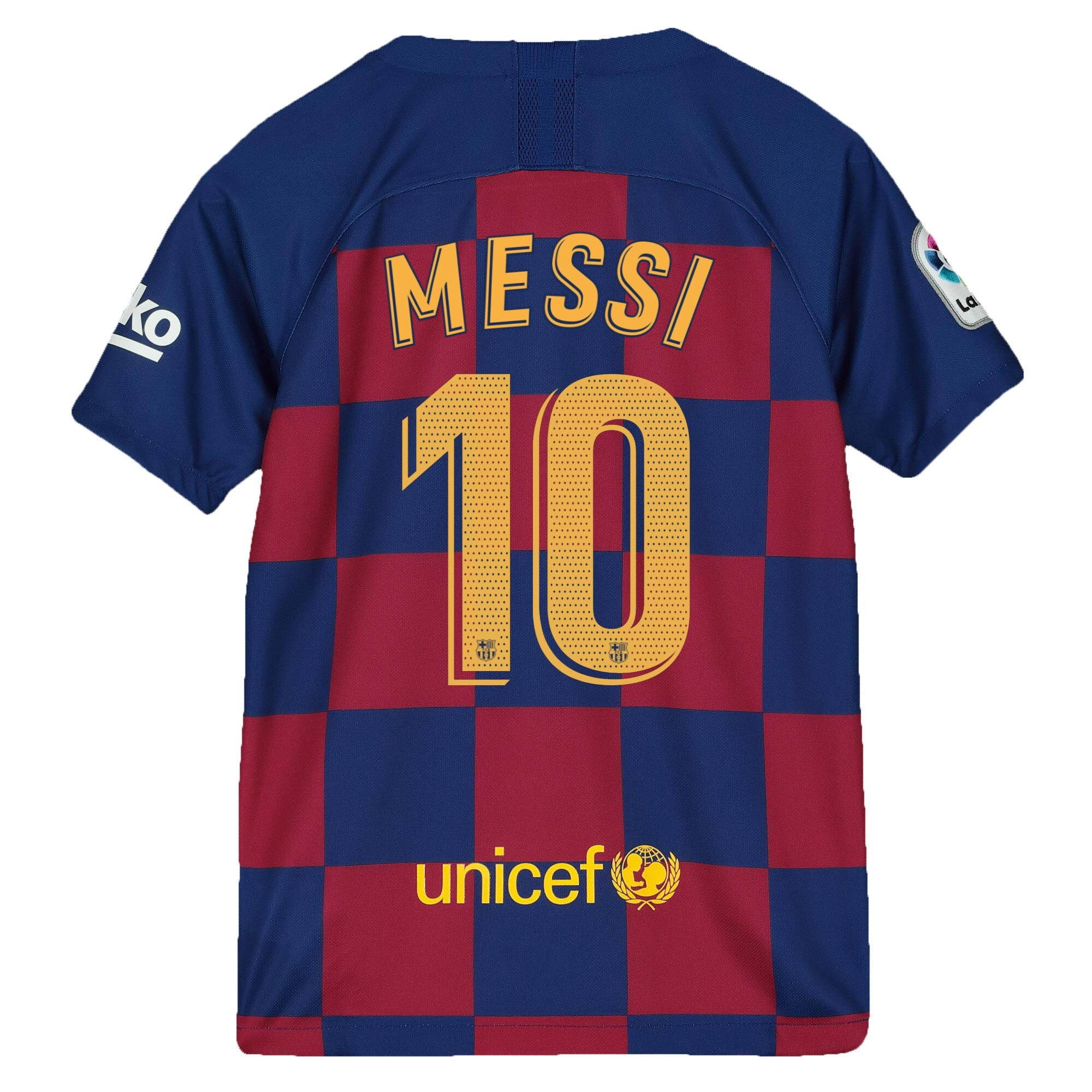 Nike Messi 2019 20 Fc Barcelona Home Jersey Youth Soccer Zone Usa