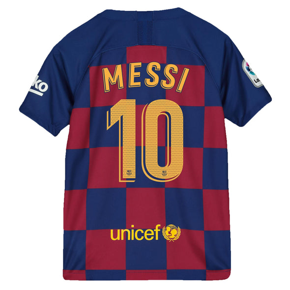Nike Messi 2019-20 FC Barcelona Home Jersey - YOUTH
