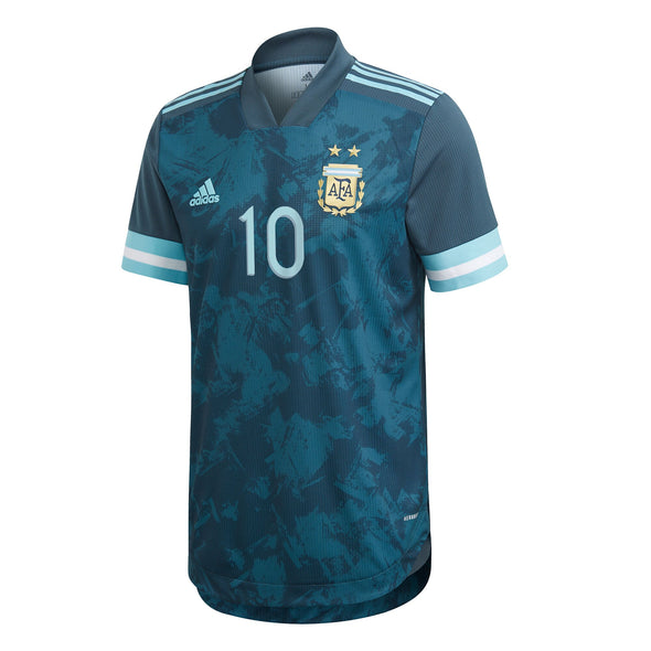 Messi Argentina 2020-21 Away AUTHENTIC Jersey