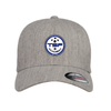 TSF Academy Flexfit Wool Blend Fitted Cap Heather Grey