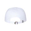 Mount Olive Travel Yupoong Cotton Twill Dad Cap White