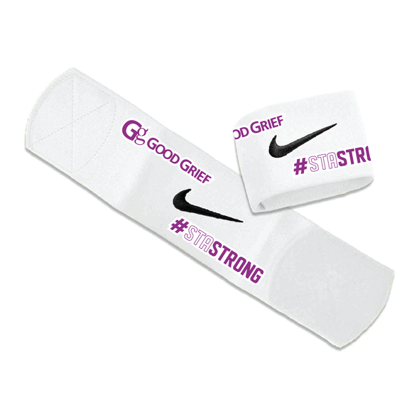 STA Mount Olive Premier Awareness Nike Guard Stay White