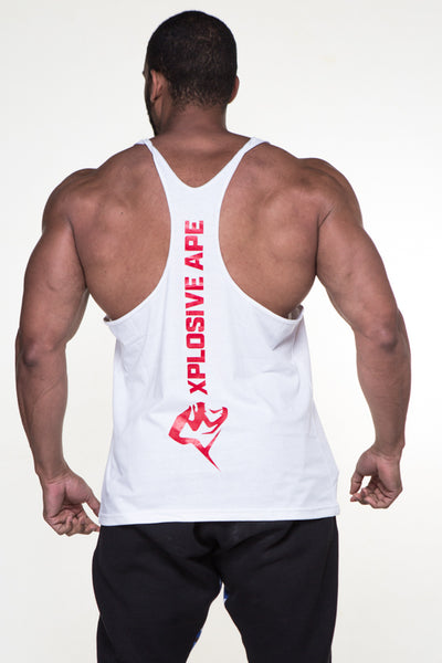 APE ULTIMATE VERTICAL STRINGER - WHITE