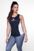 LADIES - APE REVERSE VEST - NAVY & WHITE