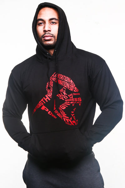 APE LIMITATION PULLOVER - BLACK