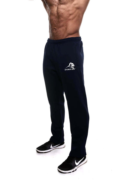 APE ULTIMATE JOGGERS - NAVY
