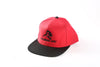APE ULTIMATE ORIGINAL SNAPBACK - RED WITH BLACK PEAK