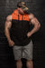 APE ULTIMATE HOODIE MUSCLE TOP - ORANGE