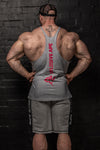 APE ULTIMATE VERTICAL STRINGER - GREY