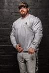 APE ULTIMATE SWEATSHIRT - GREY