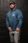 APE CLASSIC LOGO PULLOVER - AIR FORCE BLUE